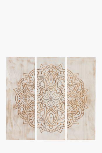 Henna Dimensional Wall Art