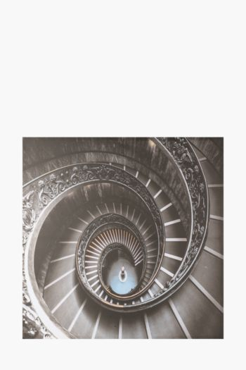 Printed Spiral Stairs 120x90cm Wall Art