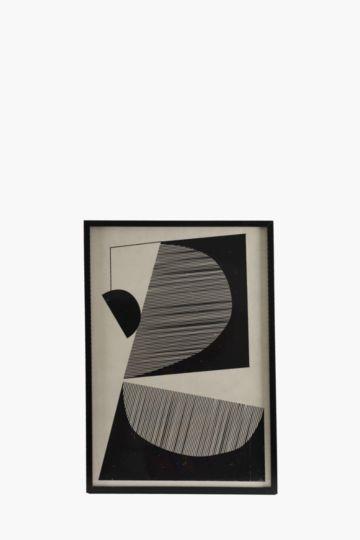 22529d7f5e9 Framed Geometric 60x90cm Wall Art