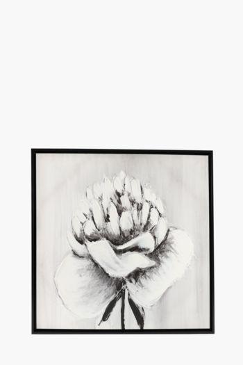 Framed Flower 60x90cm Wall Art