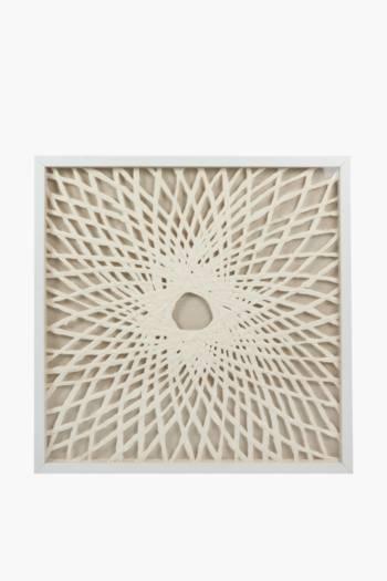 Dimensional Geo Box Wall Art