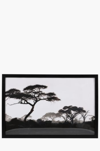 Framed Trees 40x60cm Wall Art