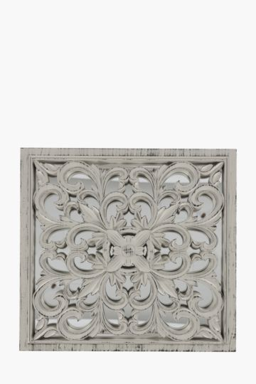 Dimensional Wood 40x40cm Wall Art