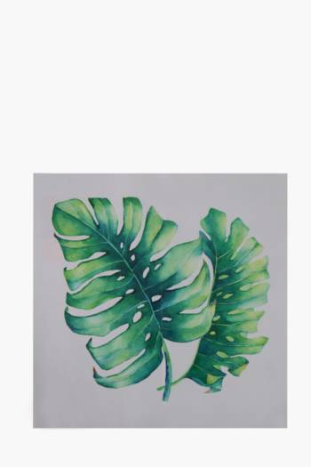 Printed Leaf 40x40cm Wall Art