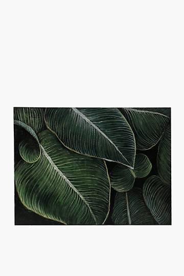 Deep Tropical Canvas, 120x90cm