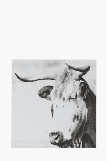 Printed Nguni 40x40cm Wall Art