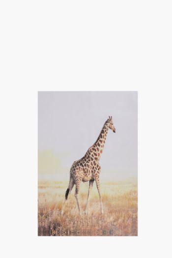 Printed Giraffe 60x90cm Wall Art