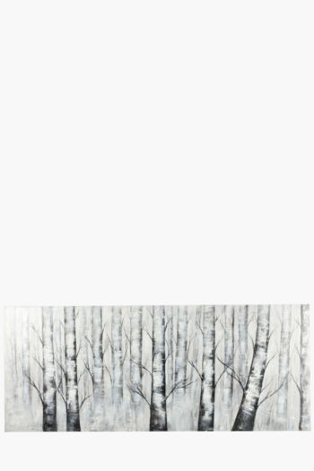 Hand Painted Trees 170x70cm Wall Canvas