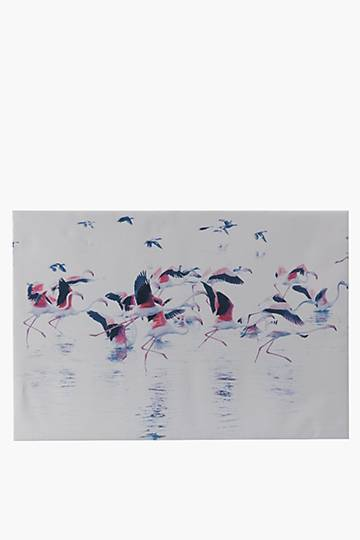 Simon Smith Flamingo Wall Art