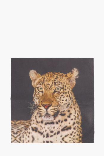 Printed Leopard 40x40cm Wall Art