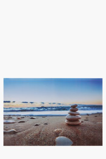 Printed Stones 40x60cm Wall Art