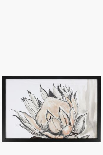 Framed Protea 40x60cm Wall Art