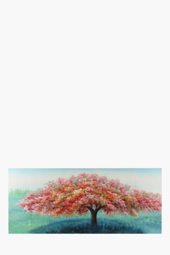 Hand Painted Tree 170x70cm Wall Canvas