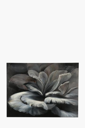 Hand Painted Petals 120x90cm Wall Canvas