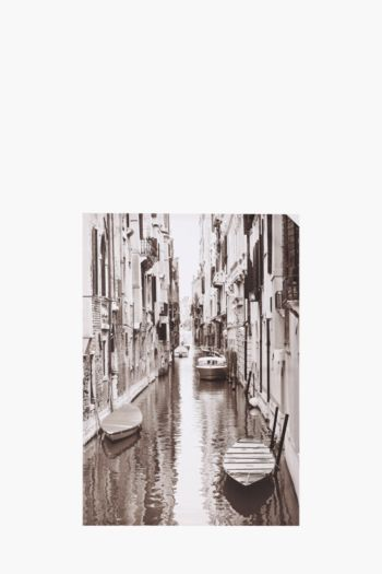 Printed Venice Canal 60x90cm Wall Art