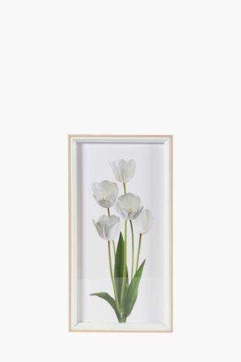 Framed Tulip 20x40cm Wall Art
