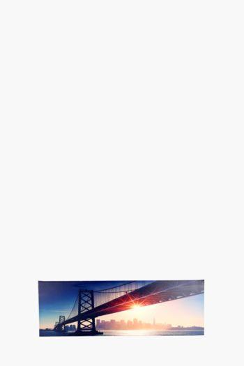 Golden Gate 135x45cm Wall Art