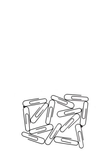 Paper Clip Frame