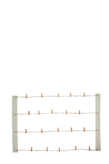 Hanging Display With Pegs