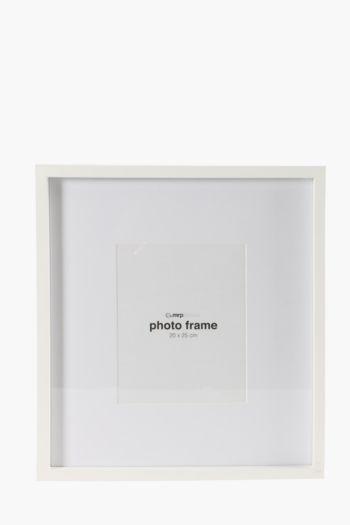 Gallery Wide Matt Board Photo Frame, 20x25cm