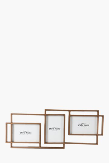 Metal 3 Picture Multi Frame