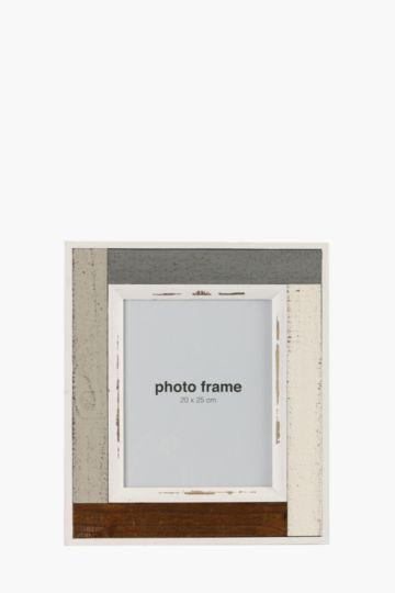 Mocha Slat Frame, 20x25cm