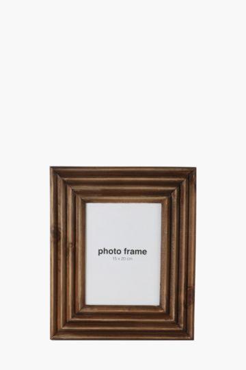 Corregated Wood Frame, 15x20cm