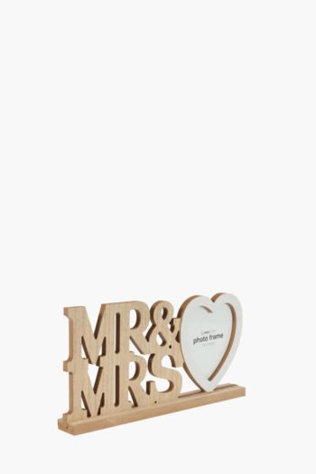 Mr And Mrs Heart Frame