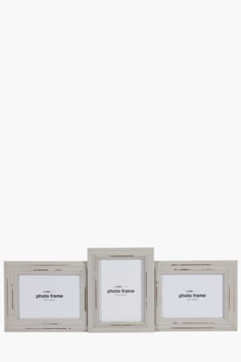 3 Picture Distressed Frame