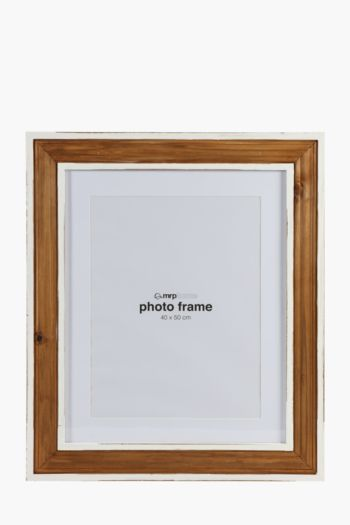 Two Tone Distressed Frame, 40x50cm