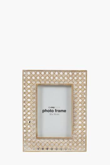Rattan Resin Frame,10x15cm