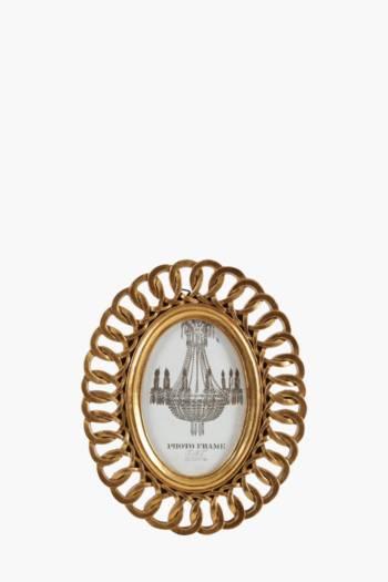 Oval Chain Frame, 10x15cm