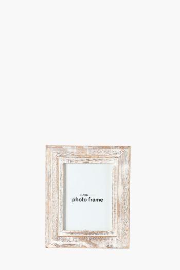 Washed Light Wood Frame, 10x15cm