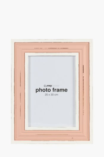 Two Tone Distressed Frame, 20x30cm