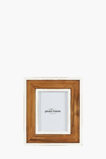 Two Tone Distressed Frame, 15x20cm
