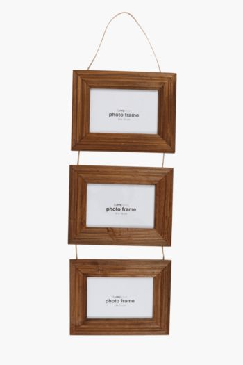 Rustic Multi Hanging Photo Frame