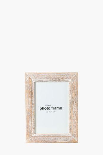 Washed Light Wood Frame, 20x30cm