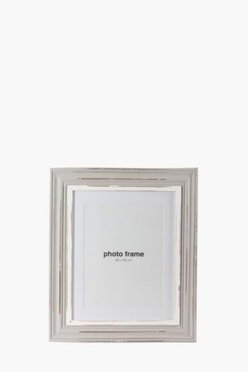Distressed Photo Frame, 40x50cm