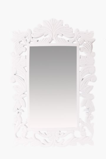 Carved Floral 60x90cm Mirror