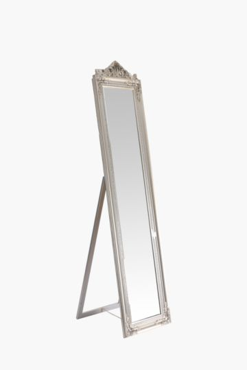 Ornate Cheval Standing Mirror