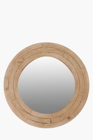 Wood Ring Mirror