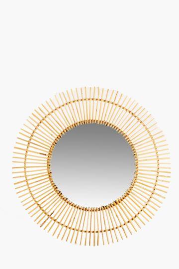 Bamboo Rays Mirror, 75cm