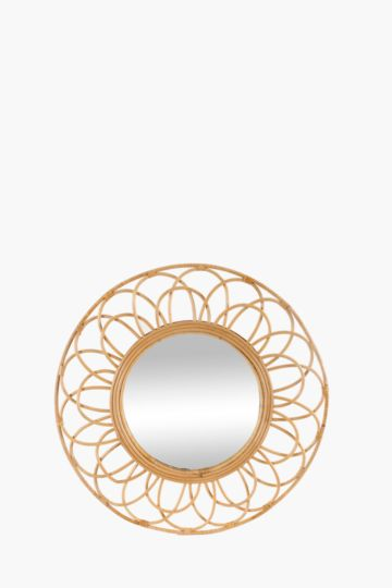 Wicker Arch Mirror, 70cm