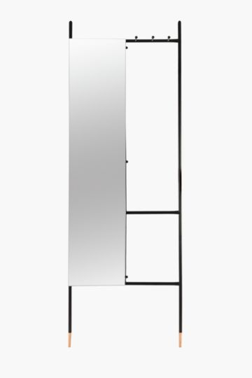 Multi Functional Leaning Mirror
