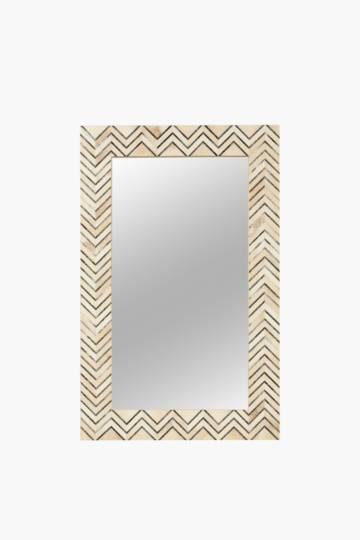 Geometric Zig Zag 50x80cm Mirror
