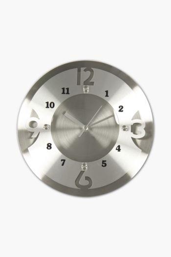 Metal Cut Out Clock