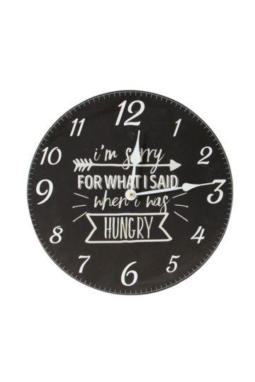 Urban Chalkboard Wall Clock