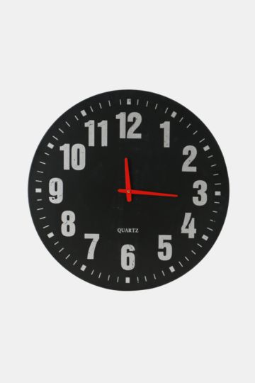 Contemporary Metal Clock, 60cm