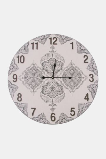 Agra Crest Paper Wall Clock