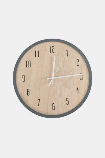 Wood Plate Clock